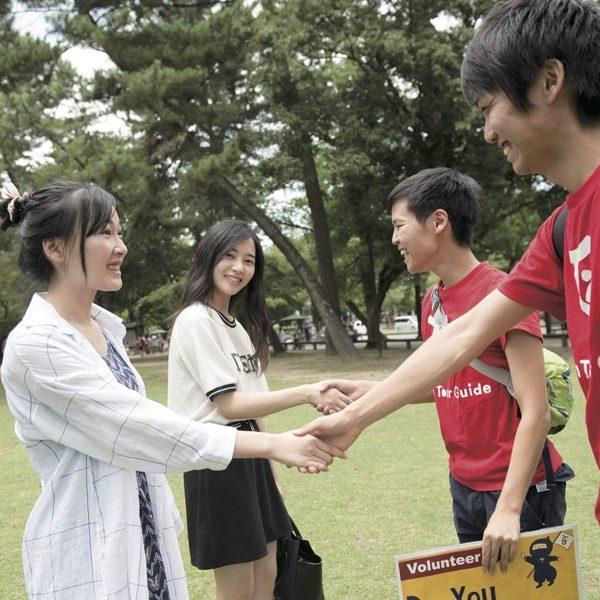 Welcome to Nara! 奈良観光のお助けならJTG!