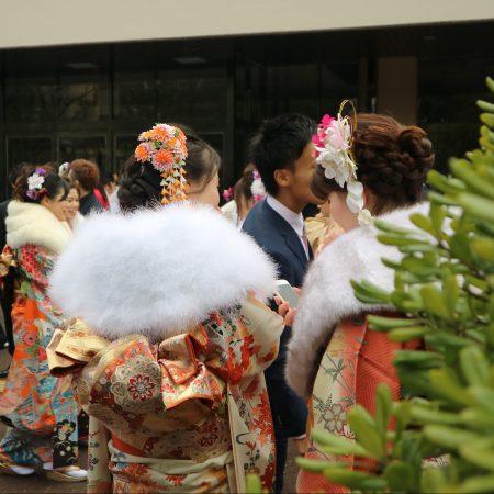 "'Seijin no hi"" (Coming of age day) in Nara"