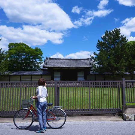 Bike around Ikaruga Town to see other 7th century temples that are UNESCO World Heritage Sites