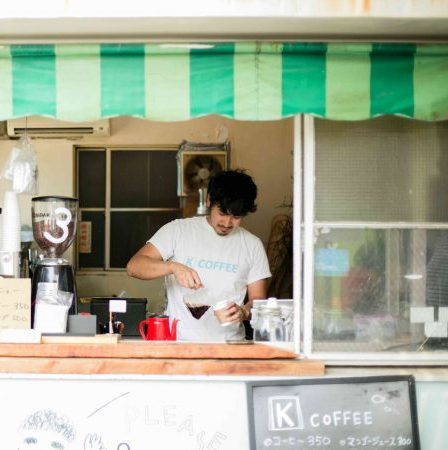 How the site of an old gas station became a tourist attraction: A coffee shop that enjoys affectionate bonds with its local community